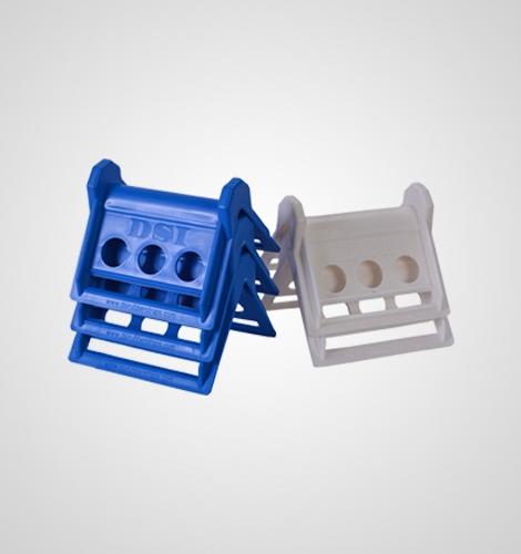 Plastic Corner Protectors Blue White